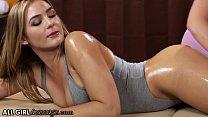AllGirlMassage Smokin' Hot Blair Williams Gets A Oiled Thirsty Massage