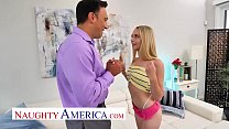 Naughty America - Lily Larimar fucks her friend's dad