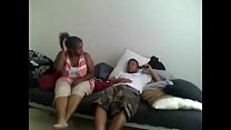 """Big cousin came over to """"talk"""""""