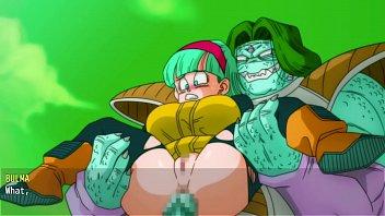 Bulma Adventure 3 - Bulma gets gangbanged by the Ginyu ( Full Gameplay)