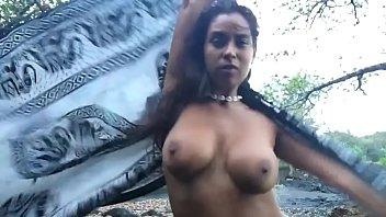 Tasha mama dancing in the forest। sexy dance tajhma। natasha maile। halakana