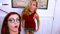 Flora & Mya: Two naughty girls doing each other in front of a webcam! Cam4.com
