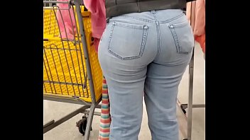 Nice Plump Mixed Booty shopping for panties 52 sec