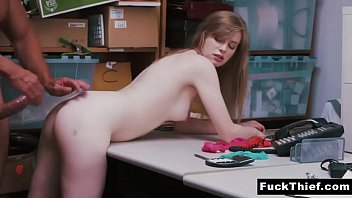 Police Officer Was Punishing The Thief - Dolly Leigh