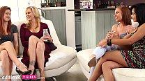 First Time Lesbian Swingers Swap Girlfriends, Part 1 - Addicted2Girls 11 min