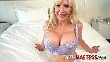 Busty Blonde MILF Victoria Lobov POV Sex