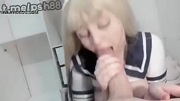 School girl POV love big dick