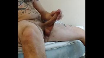 Stroking, December, Getting so big, huge cum, big orgasm