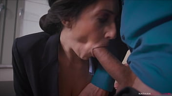 Hung Ian Scott Destroys the Asshole of his big boobs big booty manager Eloa Lombard 14 min