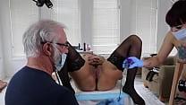 Amelia Dire / Kingsley (DSC5-8) Fetish Female Sounding Catheterization Bladder Control