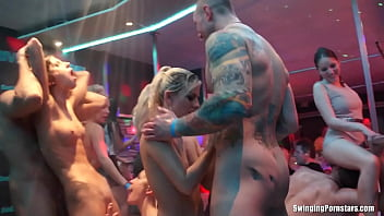 Beautiful cheating amateur whore Elis gets barebacked in a club in DSO Bridal Fuck Wars