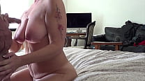 Friend is out of town, Wife stops by and I cum and Piss on Her