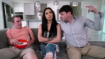 BANGBROS - Step Family Sex Trio With MJ Fresh, Jay Myers And Preston Parker