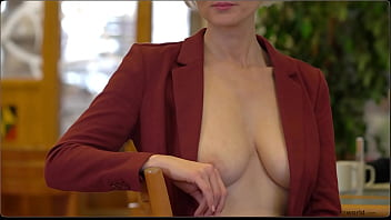 submissive business women - exposed in public 2 min