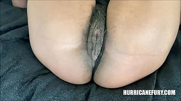 UP CLOSE & PERSONAL: A PUSSY FART FROM MY HAIRY CREAMY PUSSY BEFORE SQUIRTING EVERYWHERE