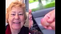 Cathy BBW Cock Sucking Slut Sucking Off Cock Facial Outdoors Cum Load in Car Park