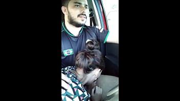 Novinha Pagou a Viagem do Uber com Boquete
