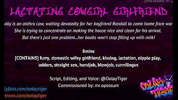 Lactating Cowgirl Girlfriend   Erotic Audio Play by Oolay-Tiger