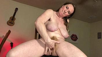 Dirty Talking Flexible Wife Cum Over Chair - BunnieAndTheDude 10 min