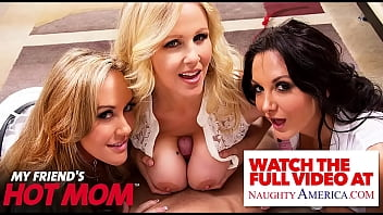 Naughty America - MILFs in costume, Casca Akashova & Rachael Cavalli, need some dick after a big scare!!
