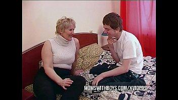 BBW Mature Mom Seduces Sons Friend 12 min