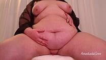 Shy BBW with a very soft tummy Anastasia Gree