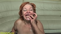 ugly toothless 74 years old mom fucked