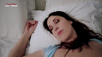 Hot Step Mom with Huge Tits has a Crazy Dream - Amiee Cambridge