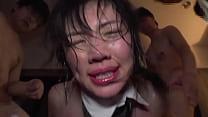 Nasty Japanese Babe Gets DeepThroat, Maltreatment & Rough Gangbang Sex - Part 3 ⁄ 3