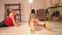 Erotic stretching class prank with Jeny Smith