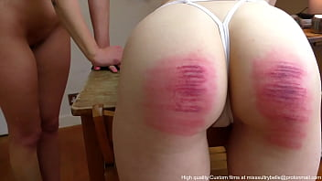 Caned and whipped.