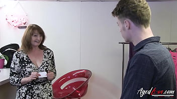 AGEDLOVE Busty Mature Recieves Deep Hardcore Sex 10 min