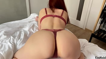 Amateur sucking cock and intense doggystyle sex. Big ass Kleomodel 11 min