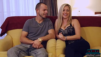 Sex tape of married couple with hot big tits MILF wife and big cock husband