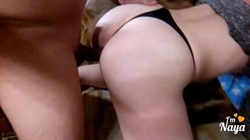 Big ass of this Sexy blonde, she got huge facial