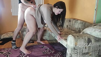 Cuckold Husband Record Cheating Wife Fucking his Friend before Fuck her and Cum on her Face