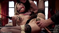 Slaves in sixtynine position fucked
