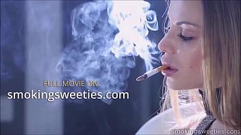 Smoking Fetish - Ninety Nine Minutes - Smoking Sweeties Preview Clip Compilation