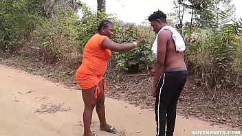 The Lady That Help The Local Blind Man With Benefits  She Misleaded The Blind Man To Her House And Fucked Him