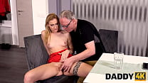 DADDY4K. Old man still able to fuck sons new hot GF and make her cum
