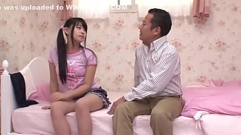 Japanese Dad and Step Daughter