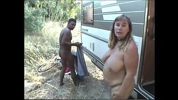 Suzi enjoying casual roadside sex with a stranger 4 min