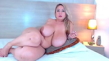 Real Huge Boobs BBW Slut Maid 6 min