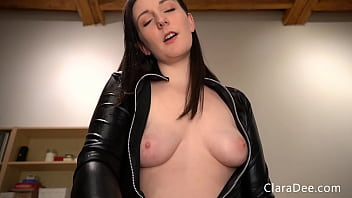 Clara Dee - POV Sissy Pegging - CUSTOM FOR FRED - CEI, Self facial, Anal training virtual sex
