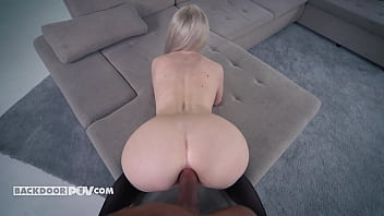 Isabella Clark - Busty blonde MILF rear ended and ravaged 10 min