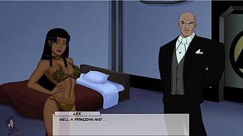 DC comics Something Unlimited Part 58 Slave girl Blackfire