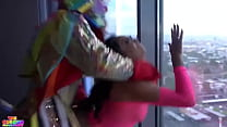 Cali Caliente gets fucked hard by a clown