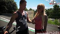 Deutsche blonde tattoo Fitness milf verführt vom Fitnesstrainer