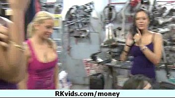 Nasty girl gets payed and tape for sex 25