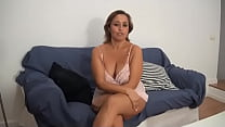 Busty mommy sets up a trap for a candidate to porn performer